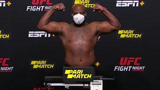 UFC Vegas 6: Lewis vs Oleinik - Weigh-in