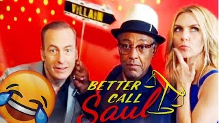 BETTER CALL SAUL CAST FUNNY MOMENTS - BEST COMPILATION