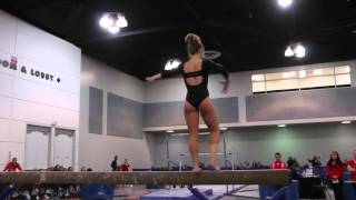 Grace Kramer Class of 2016 (ASU) - Beam
