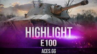 Вальяжно танкующий E 100