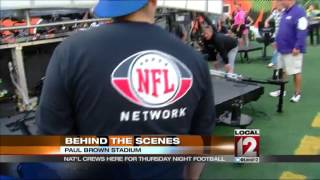 Behind the scenes with CBS Thursday Night Football