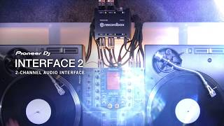 Take a look PIONEER DJ INTERFACE2 Two-Channel Audio Interface for Rekordbox DVS in action - video 1