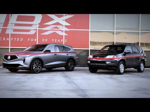 Twenty Years of Design Innovation: Acura MDX