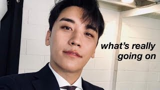 addressing seungri's scandal