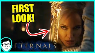 FIRST LOOK At Eternals (2021) REACTION + Breakdown! | Black Panther 2, Fantastic Four Marvel News