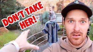 STEALING MY KID AT DISNEYLAND! 😧