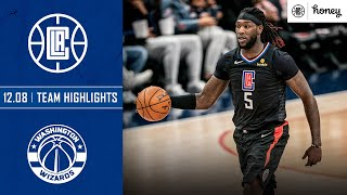Clippers Use Team Effort to Defeat Wizards | Honey Highlights