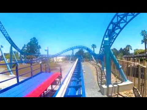 Manta On-Ride NEW! (HD POV) Front Seat Seaworld San Diego California