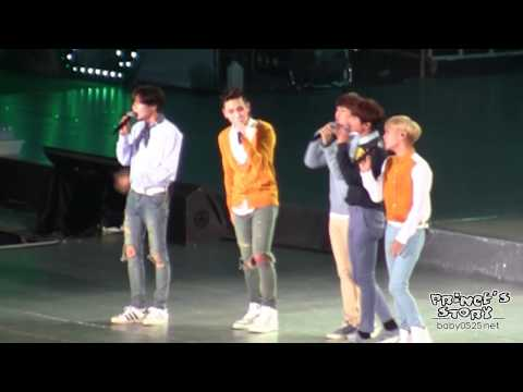 [FANCAM]141018 SMTOWN IN SHANGHAI SHINee Green rain