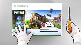 """Xbox One """"FORTNITE"""" Console Unboxing (Eon Skin Bundle) Battle Royale Solo Victory Gameplay"""
