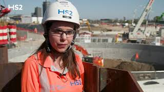 HS2 construction update: Victoria Road shaft