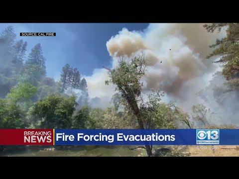 River Fire Near Colfax Burns 1,000 Acres