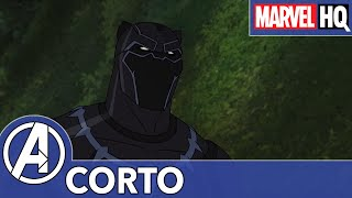 Pantera Negra | Los Vengadores de Marvel: Guerras Secretas