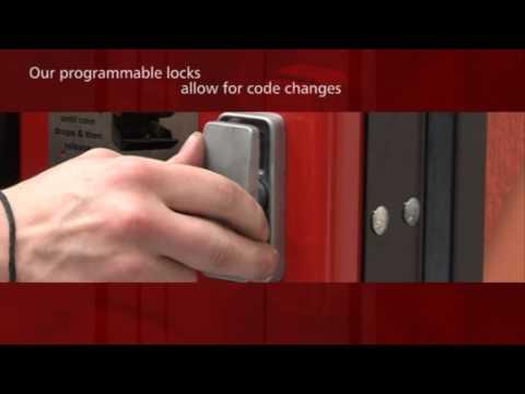 how to get into a vending machine locks