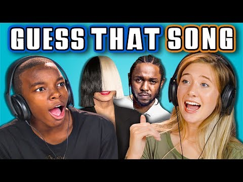 TEENS GUESS THAT SONG CHALLENGE #3 (React)