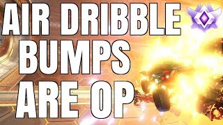 AIR DRIBBLE BUMPS ARE UNSTOPPABLE | SO MANY INSANE GOALS | GRAND CHAMPION 1V1