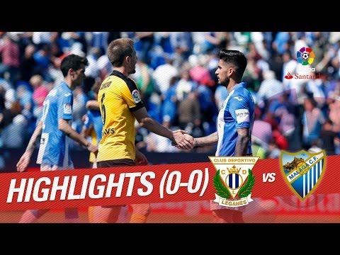 Leganés vs Málaga