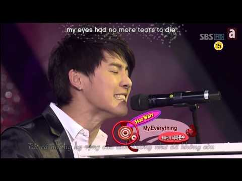 Piano Battle - Junsu vs Taeyang - Don't Wanna Try & My Everything