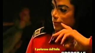 Chris Cantore tells how Michael Jackson saved his grandmother. ( Sub Ita)