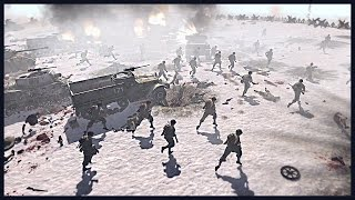 US Special Forces, Rangers and Airborne Storm the Fortress | Men of War Assault Squad 2 Mod Gameplay