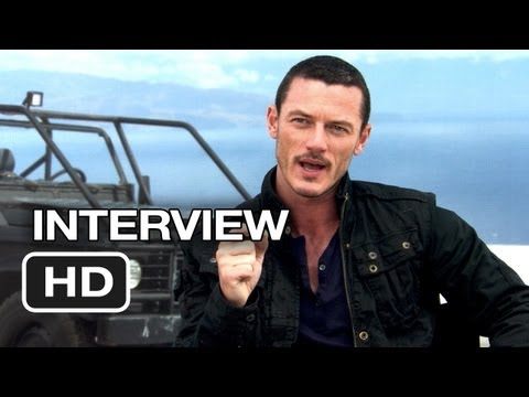 Fast & Furious 6 Interview - Luke Evans (2013) - Dwayne Johnson ...