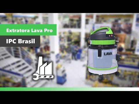 Extratora Profissional 1200W Lava Pro EP127 Ipc Soteco - Vídeo explicativo