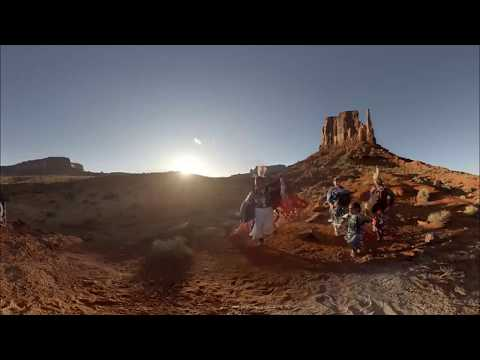 Monument Valley Dancers - 3D 360