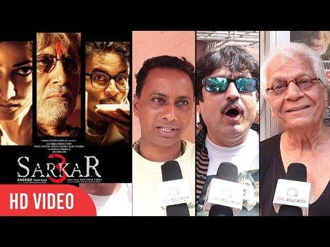 Sarkar 3 Public Review - Amitabh Bachchan, Jackie Shroff, Ram Gopal Varma