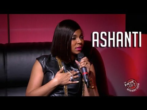 Ashanti talks Irv Gotti saying she is disloyal! - YouTube