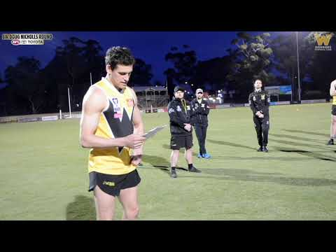 Aiden Domic | Sir Doug Nicholls Indigenous Round