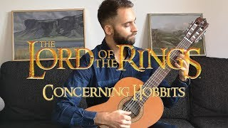 Concerning Hobbits - The Lord of the Rings on Guitar
