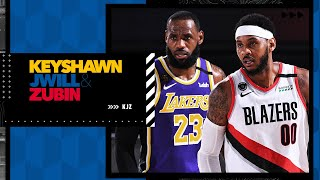 LeBron and Carmelo are teaming up, but will the Lakers need to be carried by young players?   KJZ