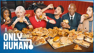 What Does 21 Days Of Nothing But Junk Food Do To These Celebrities? | Only Human