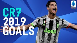 EVERY Cristiano Ronaldo Goal of 2019 | Serie A TIM