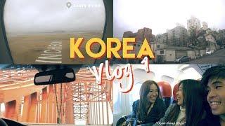 KOREA TRAVEL VLOG 1: Airport OOTD, KLOOK & AIRBNB Experience