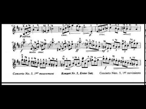 Concerto No  St Movement Seitz Violin Suzuki