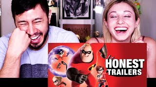 HONEST TRAILERS: INCREDIBLES 2 | Reaction!