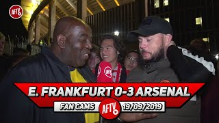 E. Frankfurt 0-3 Arsenal | Saka Is SERIOUS Talent! (DT)