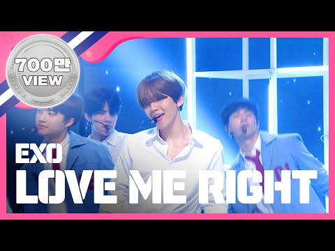 (ShowChampion EP.149) EXO - LOVE ME RIGHT