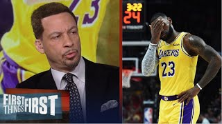 Chris Broussard Disappointed Lebron, Lakers destroy by Thunder 105-86, drop to 2-2 in restart