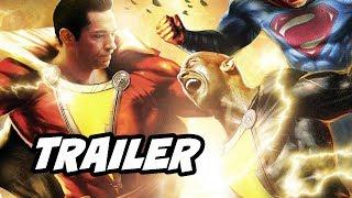 Shazam Trailer and Black Adam Movie Plot Teaser Breakdown