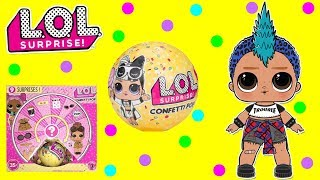 LOL Surprise Dolls Unboxing Confetti POP Wave 2   SPRiNKLED DONUTS