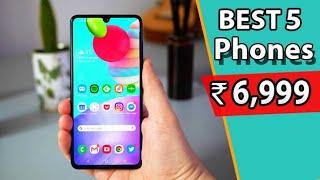 Top 5 Best Smartphones Under 7000 in India 2020 l Best Budget Phones 2020 l Hindi l
