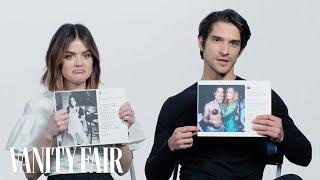 Lucy Hale and Tyler Posey Explain Their Instagram Photos   Vanity Fair