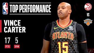 Vince Carter ELECTRIFIES in MSG! | 2019 NBA Preseason