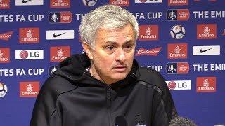 Manchester United 2-0 Brighton - Jose Mourinho Full Post Match Press Conference - FA Cup