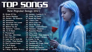 English Songs - Justin Bieber🍒 Ed Sheeran, Maroon 5, Adele, Rihana, Sam Smith, Taylor Swift...