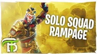 SOLO SQUADS RAMPAGE (Fortnite Battle Royale)