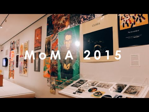 MoMA New York City // Museum of Modern Art // Follow Me Around | Vick Cammie