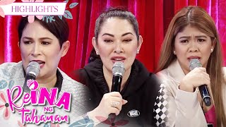 Melai, Ruffa and Janice gives their opinion in asking help from exes   Its Showtime Reina Ng Tahanan